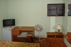 Гостиница Родос в Мисхоре. Коттедж 2. Стандартный однокомнатный номер