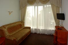 Гостиница Родос в Мисхоре. Коттедж 4. Люкс категории А