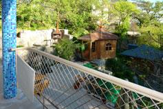 Гостиница Украинский Сувенир. Балкон