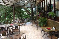 Парк-отель Глория в Мисхоре. Летнее кафе