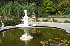Никитский сад. Фонтан
