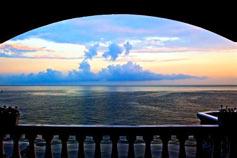 Отрадное. Эллинг у моря Гала. Вид с балкона