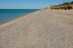Николаевка. Пляж