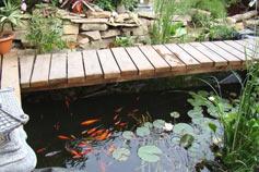 Вилла Японский сад камней в Новом Свете. Люкс с видом на пруд