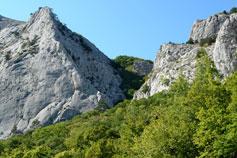 Ущелье перевала Чёртова Лестница