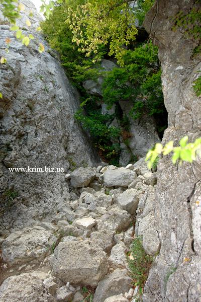 Проход перевала Чёртова Лестница, Шайтан-Мердвен-Богаз