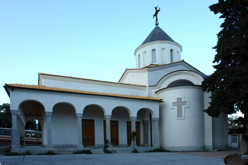 Ореанда, церковь Покрова Пресвятой Богородицы