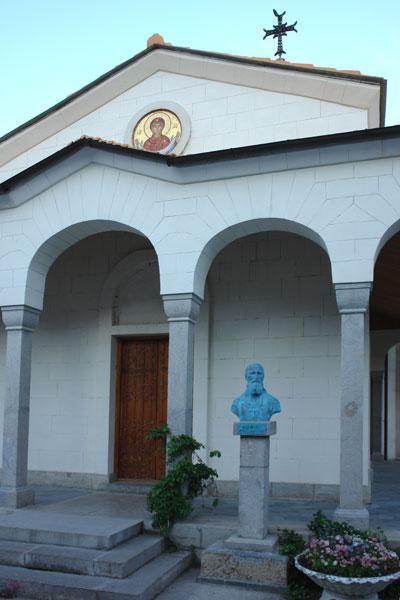 Ореанда. Действующий храм