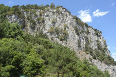 Ореанда. Гора Крестовая
