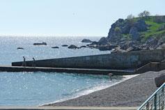 Понизовка, пляж