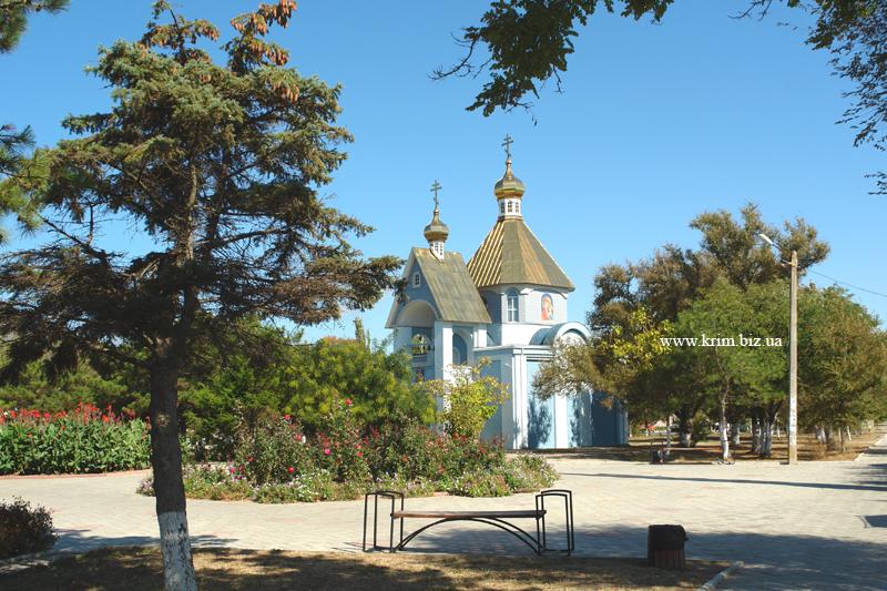 Поселок Приморский. Церковь Святителя Николая Чудотворца