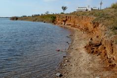 Крым. Сакское озеро