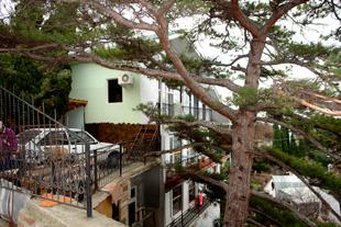 Частная мини-гостиница в Симеизе. Общий вид