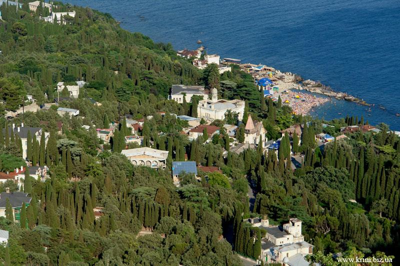 Крым, лето, отдых в Симеизе