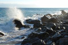 Чёрное море, шторм
