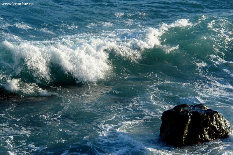 Чёрное море волна