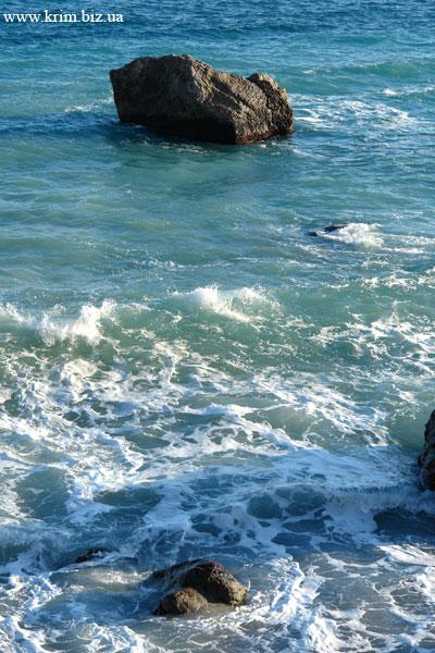 Симеиз прибрежные камни