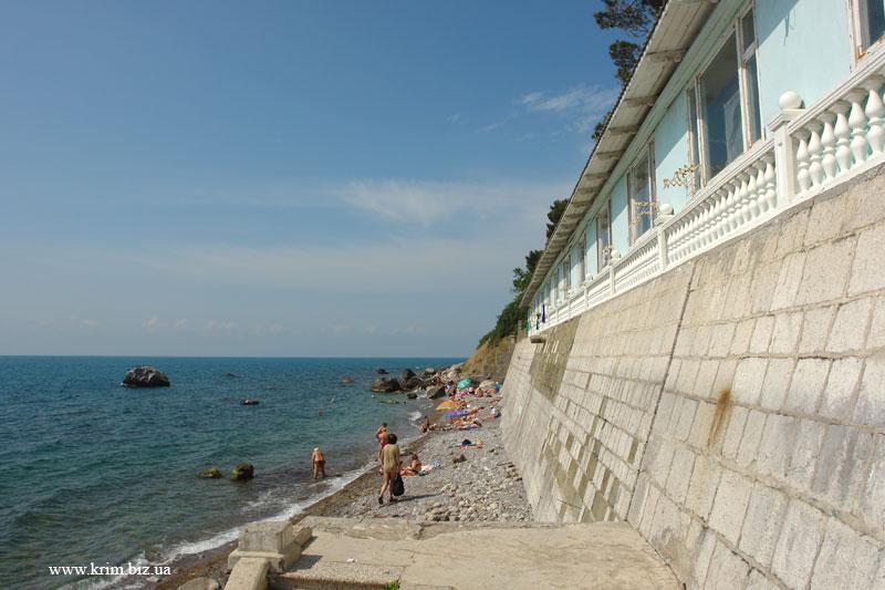 Симеиз гостиница Лиго Морская на берегу моря. Бронирование гостиниц