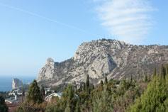 Курорт Симеиз. Гора Кошка
