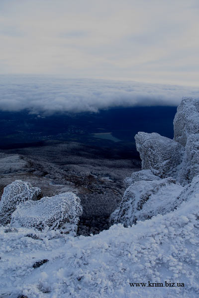 Снег на Чатырдаге