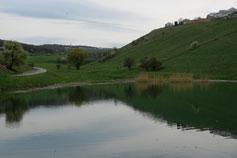 Крым. Озеро в окрестностях Симферополя