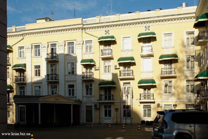 Симферополь. Гостиница Украина