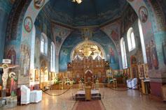 Симферополь.В церкви Трех Святителей