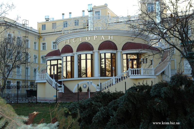 Симферополь. Ресторан отеля Украина