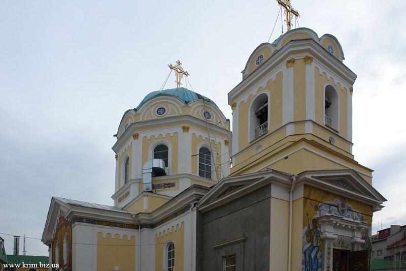 Симферополь. Кафедральный Свято - Троицкий собор