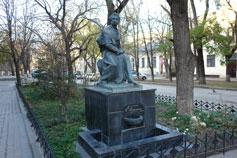 Симферополь. Памятник Пушкину