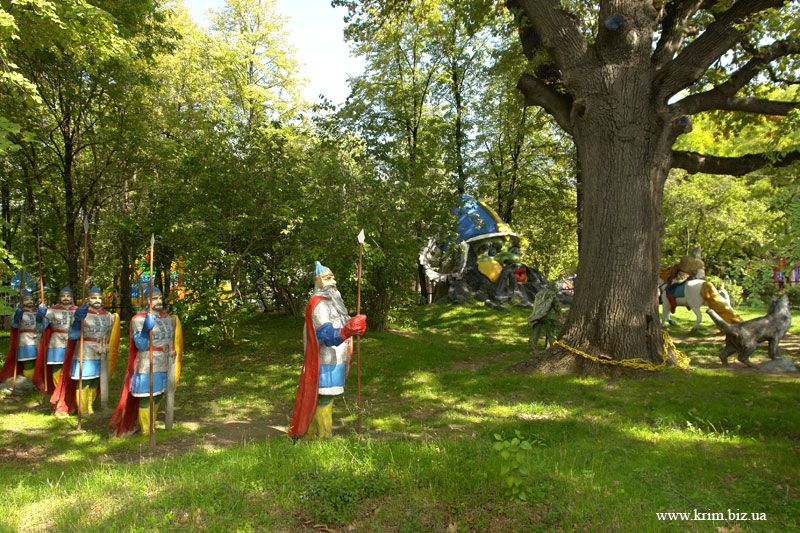 Симферополь. Детский парк. 33 богатыря
