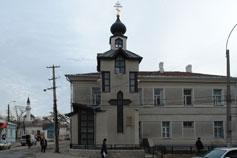 Симферополь. Часовня святого Луки