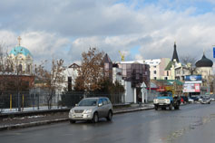 Зима в Симферополе 2008