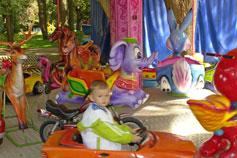 Детская карусель в Симферополе