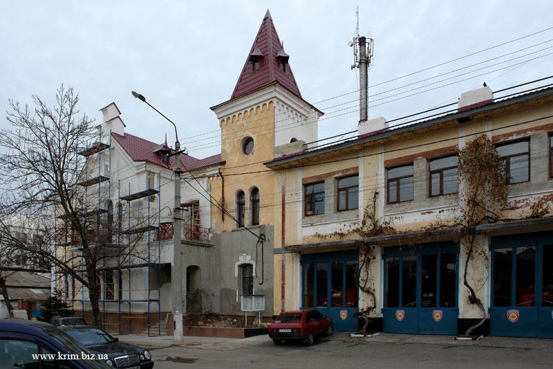 Симферополь. Пожарная станция