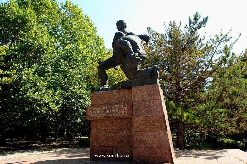 Памятник партизанам и подпольщикам Крыма Великой отечественной войны в Симферополе