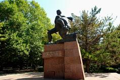 Памятник партизанам и подпольщикам Крыма в Симферополе