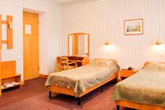 Гостиница Украина в Симферополе. Двухместный номер