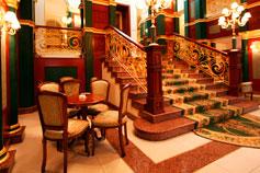 Гостиница Украина в Симферополе. Холл