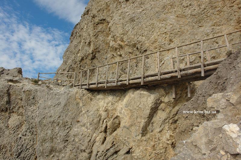 Чёртов мостик на Алчаке