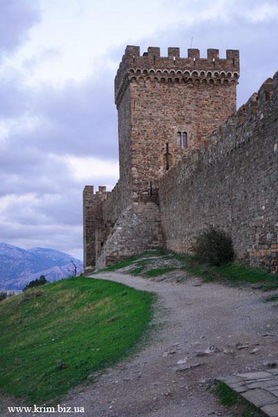 Судак. Генуэзская башня