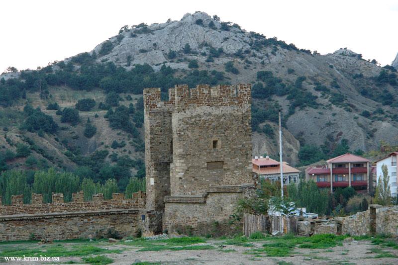 Судак. Средневековая крепость