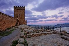 Судак. Средневековый замок