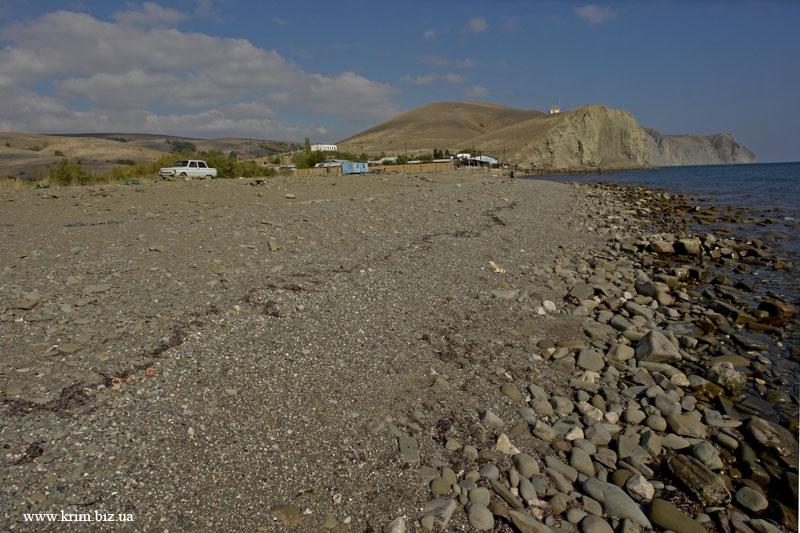 Судак - пляжи Крыма