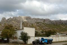 Гора Таракташ около села Дачного