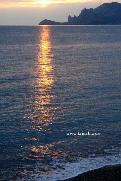 Судак. Закат солнца