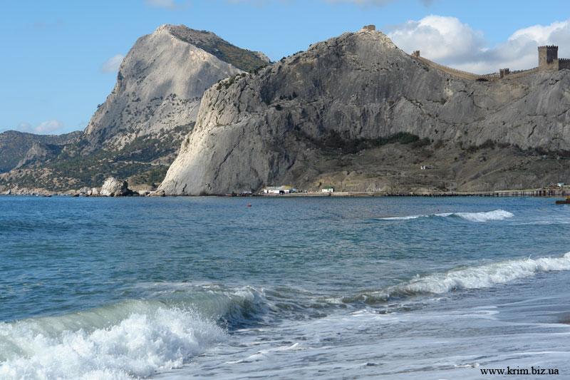 Вид на гору Крепостную и гору Сокол