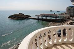 Утес. Гостиница Санта-Барбара. Вид с балкона