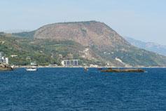 Утес, фото горы Кастель