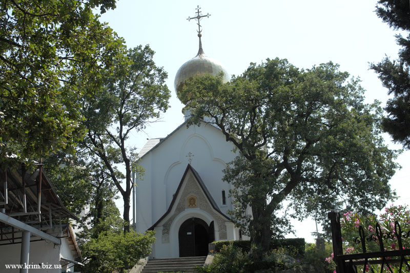 Храм святого Николая и великомученицы Александры в Нижней Массандре